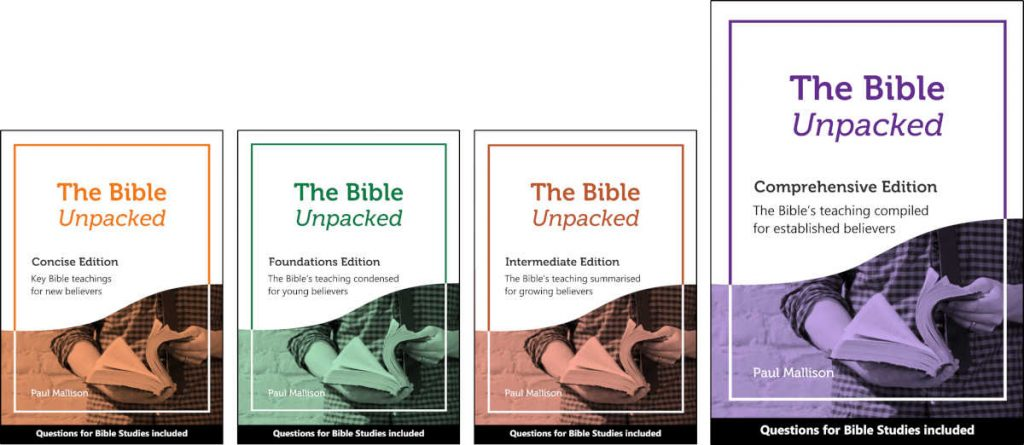 The 4 Editions with Bible study questions