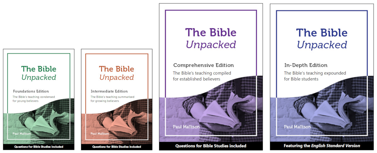 The 7 Editions - The Bible Unpacked